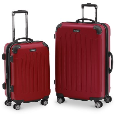Kenneth Cole Reaction Designer Luggage Set, Red (2 Piece).  Ends: Mar 1, 2015 5:15:00 AM CST