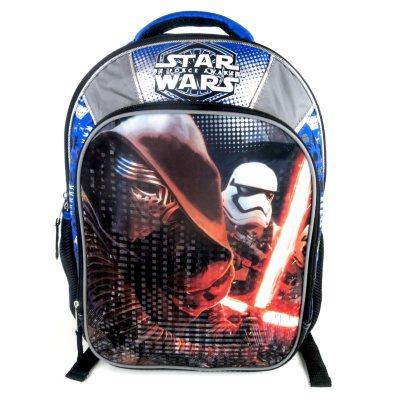 Star Wars Episode 7 Kylo Ren and Stormtrooper Backpack, Blue/Gray