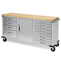 Ultra Heavy-Duty 12-Drawer Rolling Workbench