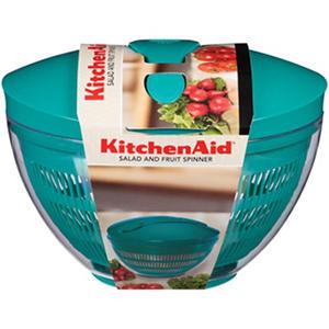 Kitchenaid 174 Salad And Fruit Spinner Teal Samsclub Com