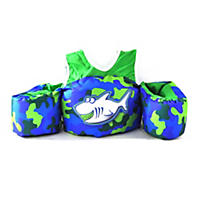 Body Glove Paddle Pals Child Life Jacket, Blue Green Shark