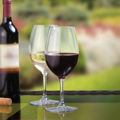 Stemmed Tritan Wine Glasses (8 pc.)