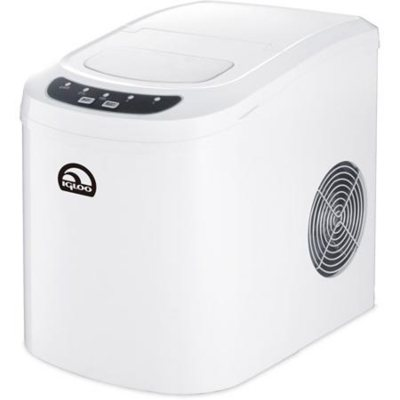 Igloo Portable Ice Maker, White.  Ends: Apr 27, 2015 5:00:00 AM CDT
