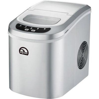 Igloo Portable Ice Maker, Silver.  Ends: Apr 28, 2015 4:00:00 PM CDT