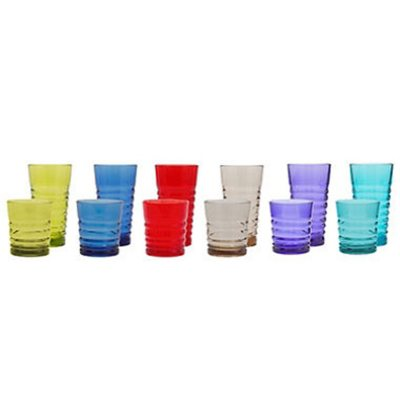 12PK Spiral Debossed Tritan Tumbler, Color/Spiral.  Ends: May 30, 2015 2:00:00 AM CDT