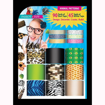 Parrot Designer Duct Tape, Animal Prints.  Ends: Nov 25, 2014 1:10:00 AM CST
