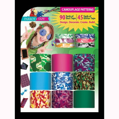 Parrot Designer Duct Tape, Camouflage.  Ends: Nov 26, 2014 8:40:00 PM CST