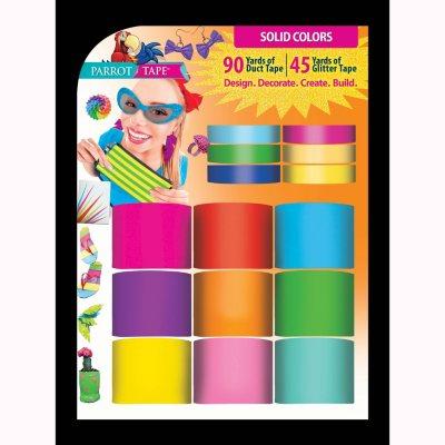 Parrot Designer Duct Tape, Solid Colors.  Ends: Nov 1, 2014 12:25:00 AM CDT