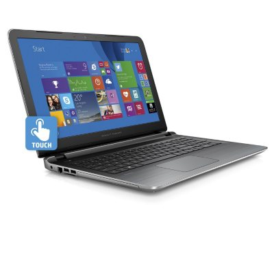 """HP Full HD Touchscreen 15.6"""" Notebook with Intel i5-5200U Processor, 8GB Memory, 1TB Hard Drive, and Optical Drive.  Ends: May 5, 2016 9:00:00 PM CDT"""