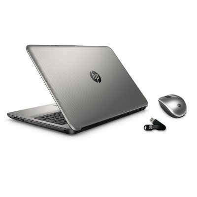 """HP 15.6"""" Touch-screen Notebook Bundle, Features: AMD A8-7410, 8GB Memory, 750 GB Hard Drive.  Ends: Apr 28, 2016 3:00:00 PM CDT"""