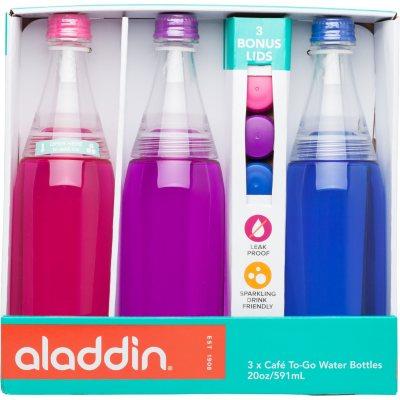 Aladdin Café To-Go  20-ounce Water Bottle (3-Pack).  Ends: Feb 7, 2016 7:00:00 AM CST