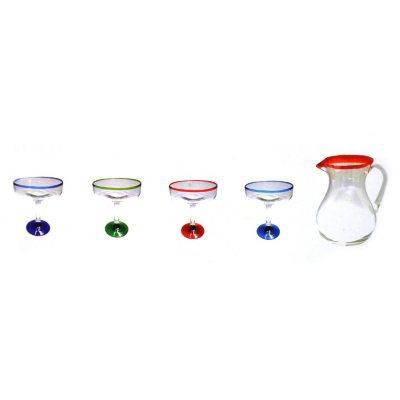 Augusta Milano Margarita Glassware Set (5 Pc.).  Ends: Oct 1, 2014 10:35:00 PM EDT