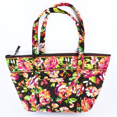 Vera Bradley Miller Tote, English Rose.  Ends: Sep 19, 2014 4:35:00 PM CDT