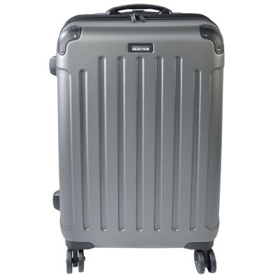 Kenneth Cole Reaction 2 Piece Designer Luggage Set, Silver.  Ends: May 30, 2016 11:00:00 AM CDT