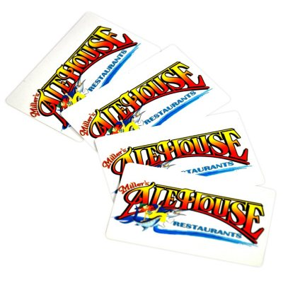 Miller's Ale House - 4 $25 Gift Cards.  Ends: Nov 22, 2014 1:40:00 AM CST