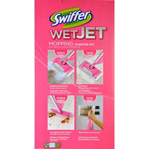 Swiffer Wet Jet Starter Kit - Pink