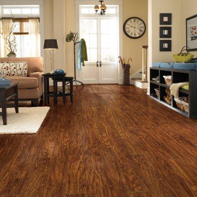 Traditional Living Handscraped Oak Premium Laminate Flooring.  Ends: Jan 29, 2015 8:40:00 PM CST