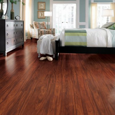 Traditional Living Mayfair Mahogany Premium Laminate Flooring.  Ends: Oct 31, 2014 10:20:00 PM CDT