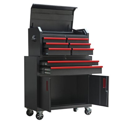 Torin 36-Inch 8 Drawer Tool Chest and Cabinet Set