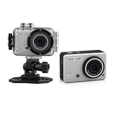 Cyclops Gear CGX HD 1080p Action Sports Camera, Silver.  Ends: May 6, 2015 6:00:00 AM CDT