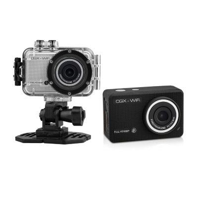 Cyclops Gear CGX HD 1080p Action Sports Camera, Black.  Ends: Aug 29, 2015 11:00:00 AM CDT
