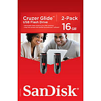 (Free Shipping) SanDisk 16GB USB Flash Drive, 2 pack