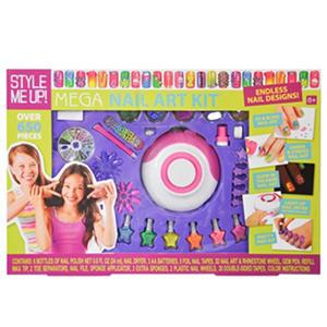 Style Me Up Mega Nail Art Kit Auctions