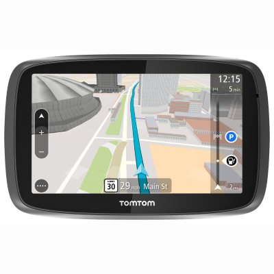 "TomTom GO 500 5"" GPS Navigator with Lifetime Traffic and Map Updates.  Ends: Sep 19, 2014 6:40:00 AM CDT"