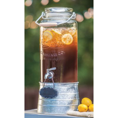 FarmStand Beverage Dispenser with Galvanized Steel Frame.  Ends: Jul 31, 2016 5:00:00 AM CDT