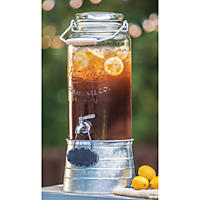 FarmStand Beverage Dispenser with Galvanized Steel Frame