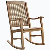 Teak Porch Rocking Chair