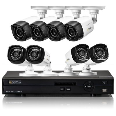 Q-See 16 Channel High Definition Security System with 1TB Hard Drive, 8 720p Bullet Cameras and 80' Night Vision.  Ends: May 25, 2016 8:00:00 PM CDT