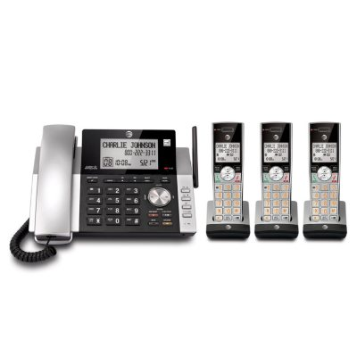 AT&T Corded/Cordless Answering System with Dual Caller ID/Call Waiting.  Ends: Jul 26, 2016 7:30:00 PM CDT