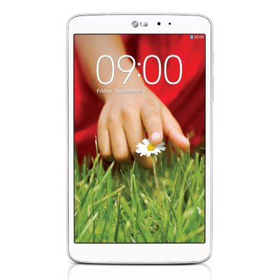 "LG 8.3"" G Pad 8.3 Tablet, White (16GB).  Ends: Mar 30, 2015 9:00:00 PM CDT"