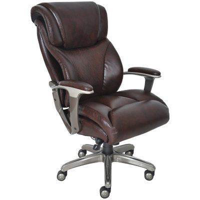 La-Z-Boy Big and Tall Executive Chair, Brown.  Ends: Mar 28, 2015 7:00:00 PM CDT