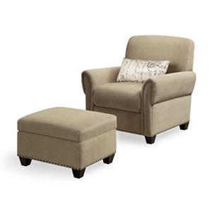 black mountain reading chair ottoman auctions. Black Bedroom Furniture Sets. Home Design Ideas