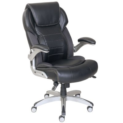 Wellness By Design Active Lumbar Chair, Black.  Ends: May 31, 2016 10:00:00 AM CDT