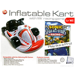 Wii Inflatable Kart Bundle