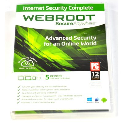 Webroot SecureAnywhere Complete 5U Software.  Ends: Sep 1, 2014 4:30:00 PM CDT