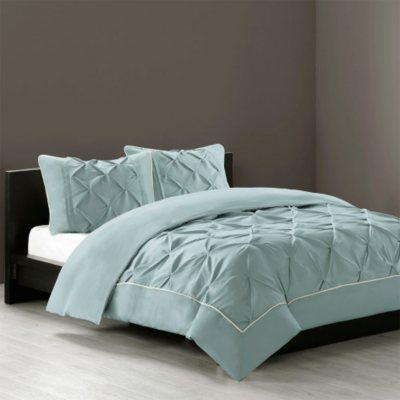 N by Natori 4 pc. Comforter Set, Blue (King).  Ends: Dec 21, 2014 12:10:00 AM CST