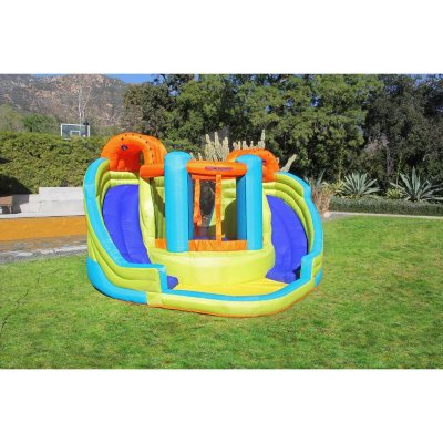 Sportspower Double Slide and Bounce Inflatable Water Slide.  Ends: Jul 29, 2016 6:00:00 PM CDT