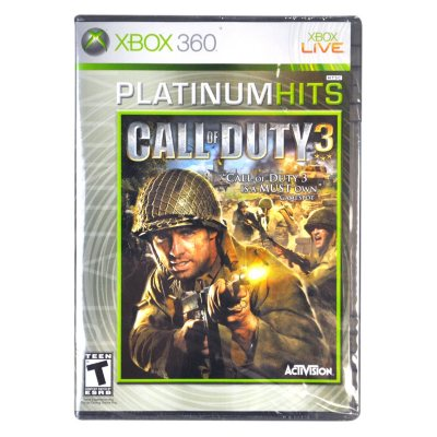 Xbox - Call of Duty 3 Platinum Game.  Ends: Oct 25, 2014 3:05:00 PM CDT