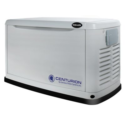 auction sku: Generac Centurion Series - 15KW Automatic Standby Generator.  Ends: Sep 23, 2014 8:00:00 AM CDT