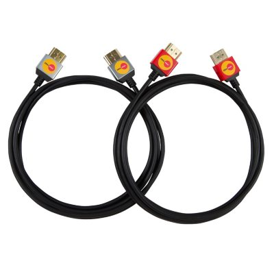 OmniMount High-Speed HDMI Cables, 9 ft. (2 pk.)