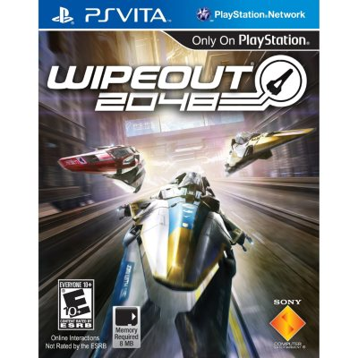 Wipeout 2048 (PS Vita).  Ends: Jul 30, 2014 4:30:00 PM CDT