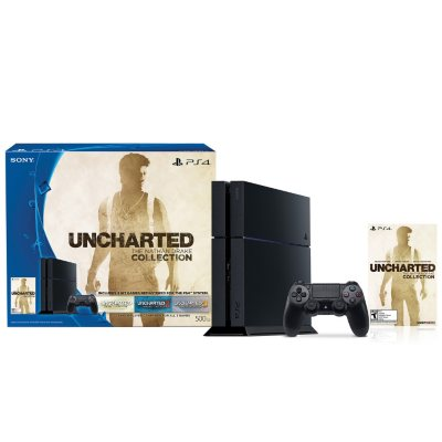 PlayStation 4 500GB Uncharted: The Nathan Drake Collection Console Bundle.  Ends: Feb 8, 2016 6:40:00 AM CST