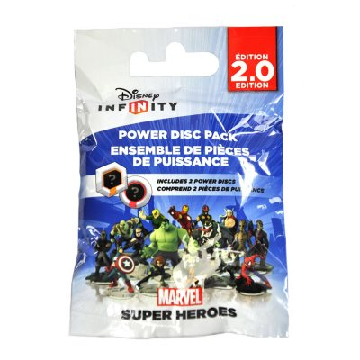 Disney Infinity: Marvel Super Heroes (2.0 Edition) Power Disc Pack.  Ends: May 6, 2015 12:20:00 PM CDT