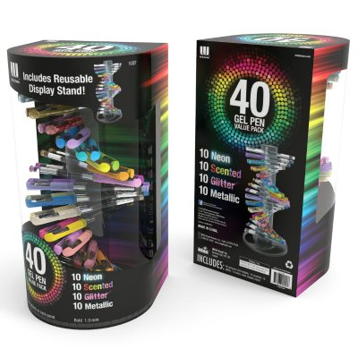 Board Dudes, Write Dudes 40ct Fashion Gel Pens.  Ends: Oct 2, 2014 1:35:00 AM CDT