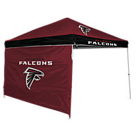 NFL Atlanta Falcons Canopy 9 x 9 with Wall