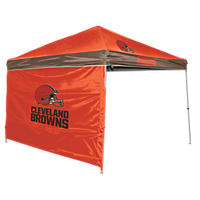 NFL Cleveland Browns Canopy 9 x 9 with Wall